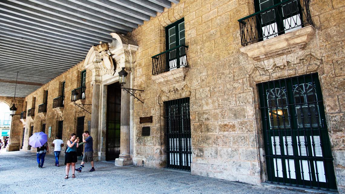 Museo de La Ciudad (Palacio de los Capitanes Generales)