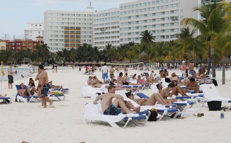 Cae ocupación hotelera en Cancún en 2019