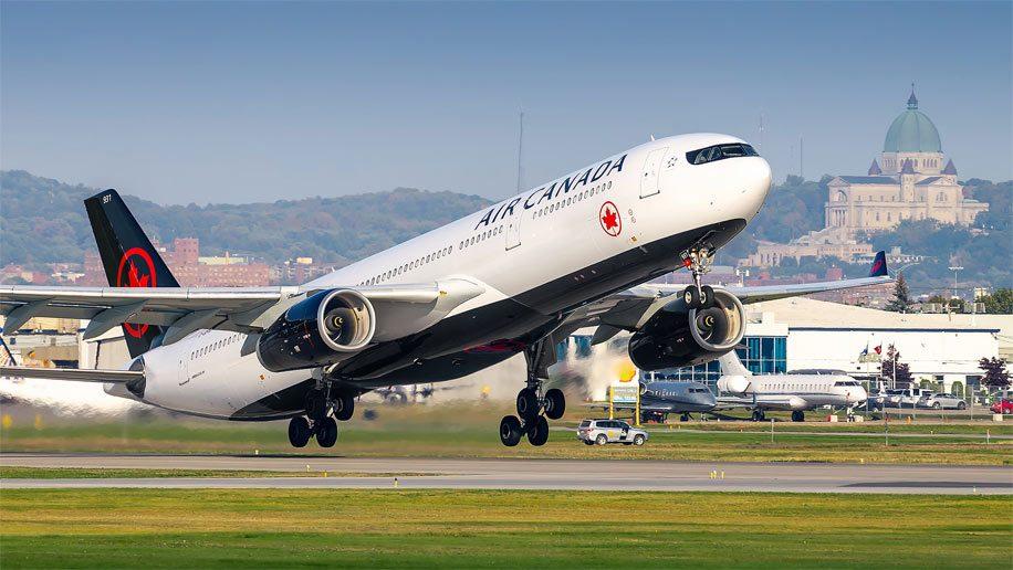 WestJet, Air Canada, afectadas por la crisis del coronavirus