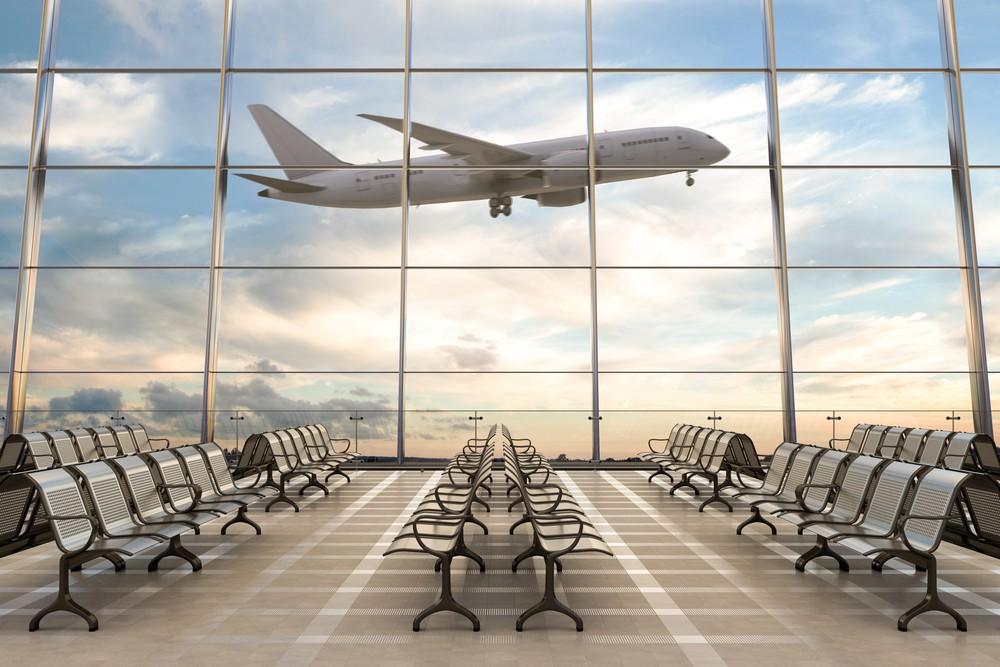avión despegando aeropuerto