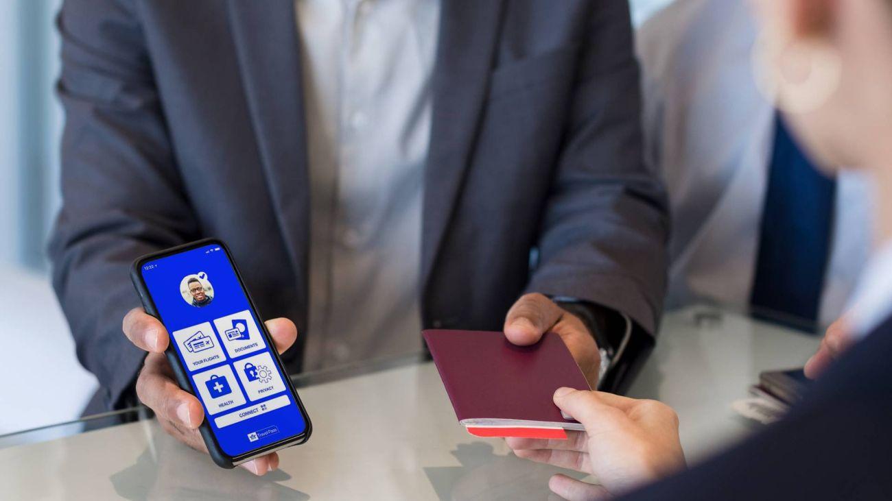 IATA health passport