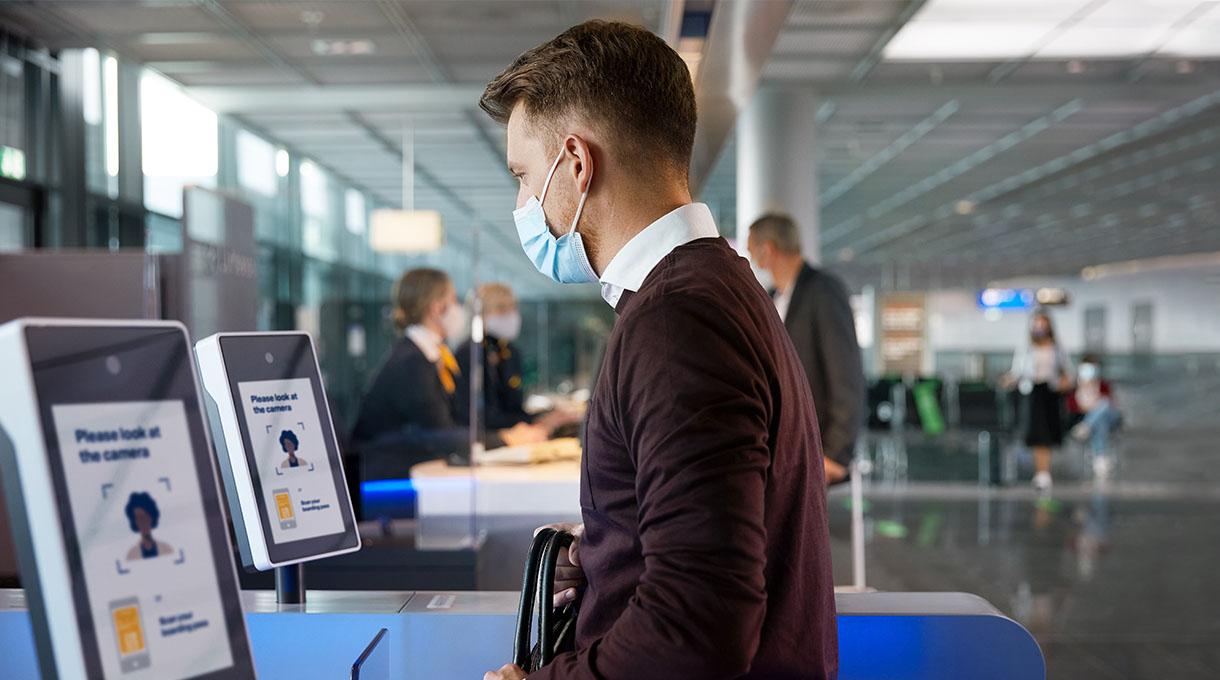 aeropuerto sin contacto