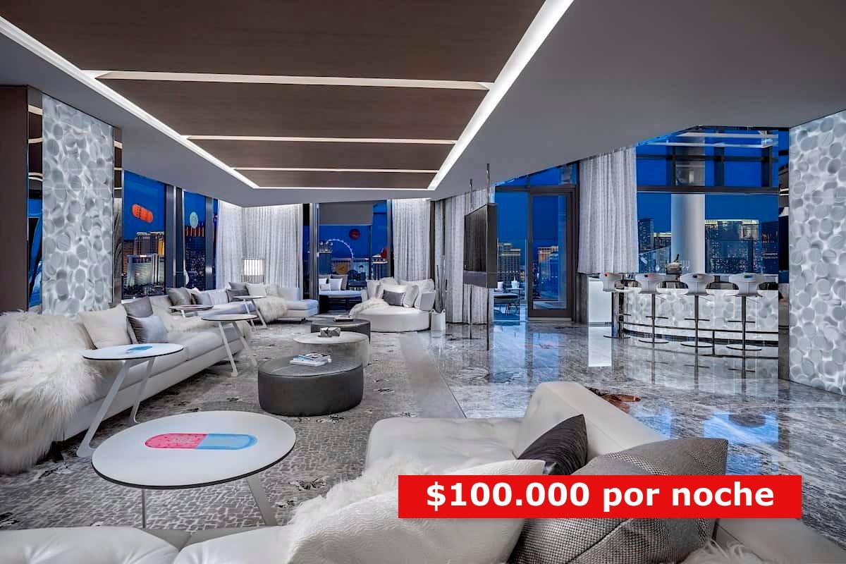 habitaciones de hotel más caras de mundo