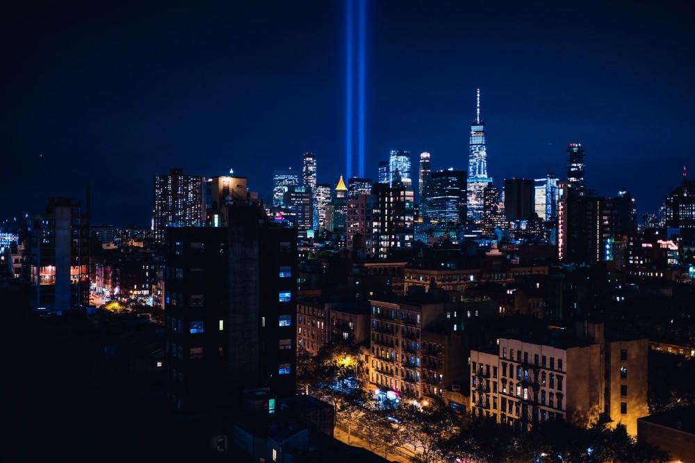 Tributo de Luz en Nueva York cada 11 de septiembre