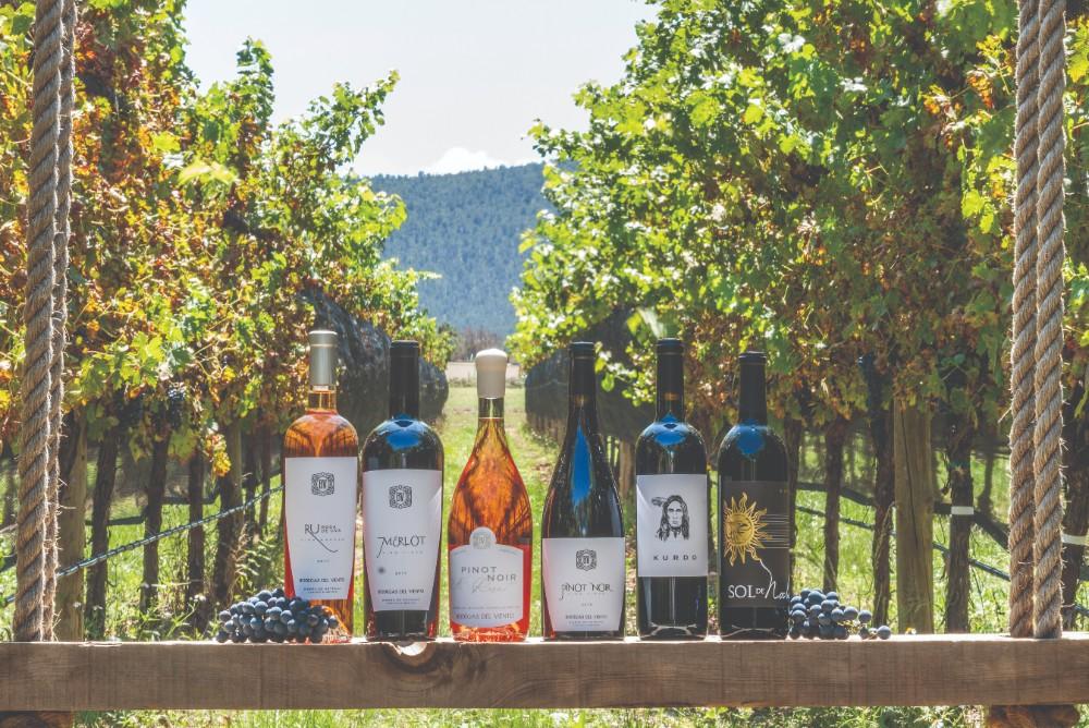 La sierra de Arteaga Coahuila poseé un clima extremadamente frio el cual permite una cosecha especial para producir vinos de calidad
