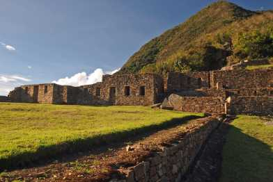 Choquequirao, Plaza Superior