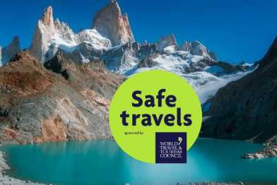 Patagonia sello WTTC Safe Travels
